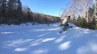 スノーボード フリーラン 谷口尊人が竜王スキーパークを滑るよ グラトリ キッカー ジブ ボックス 地形遊び thumbnail
