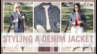 How to Style a Denim Jacket | Outfit Ideas & Lookbook