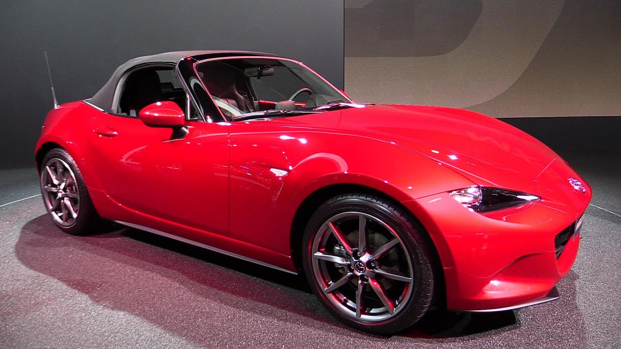 Awesome 2016 Mazda MX5 Miata  Exterior And Interior Walkaround