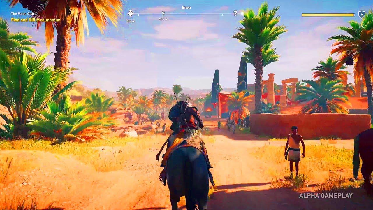 Assassin S Creed Origins Gameplay E3 2017 Youtube