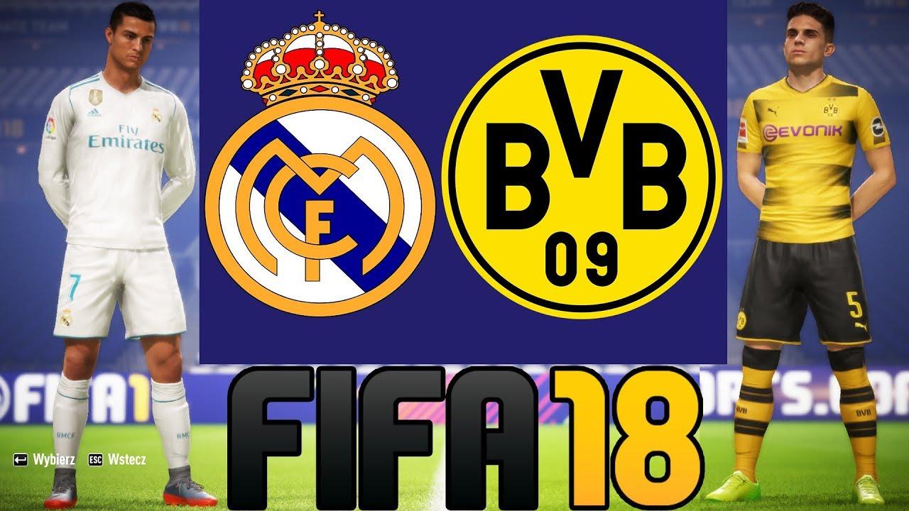 REAL MADRYT VS BORUSSIA DORTMUND | FIFA 18 |  LIGA MISTRZÓW HOGATY VS BARTEK#06