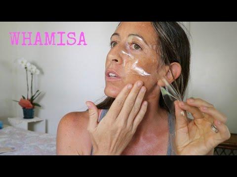 Whamisa Organic Flowers & Aloe Vera Fermented Hydrogel Sheet Mask (Mask it Monday)