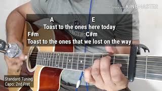 Memories by Maroon 5 Acoustic Karaoke with Guitar Chords