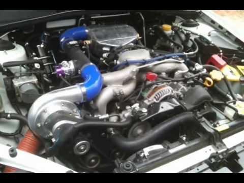 Subaru Legacy 2 5i Raptor Supercharger Start And Idle