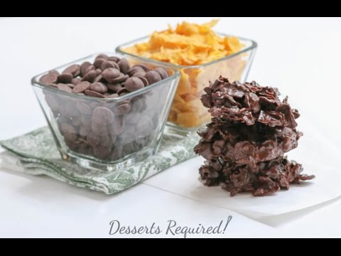Chocolate Covered Cornflakes