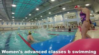 수원체육문화센터 여성B상급 수영영상