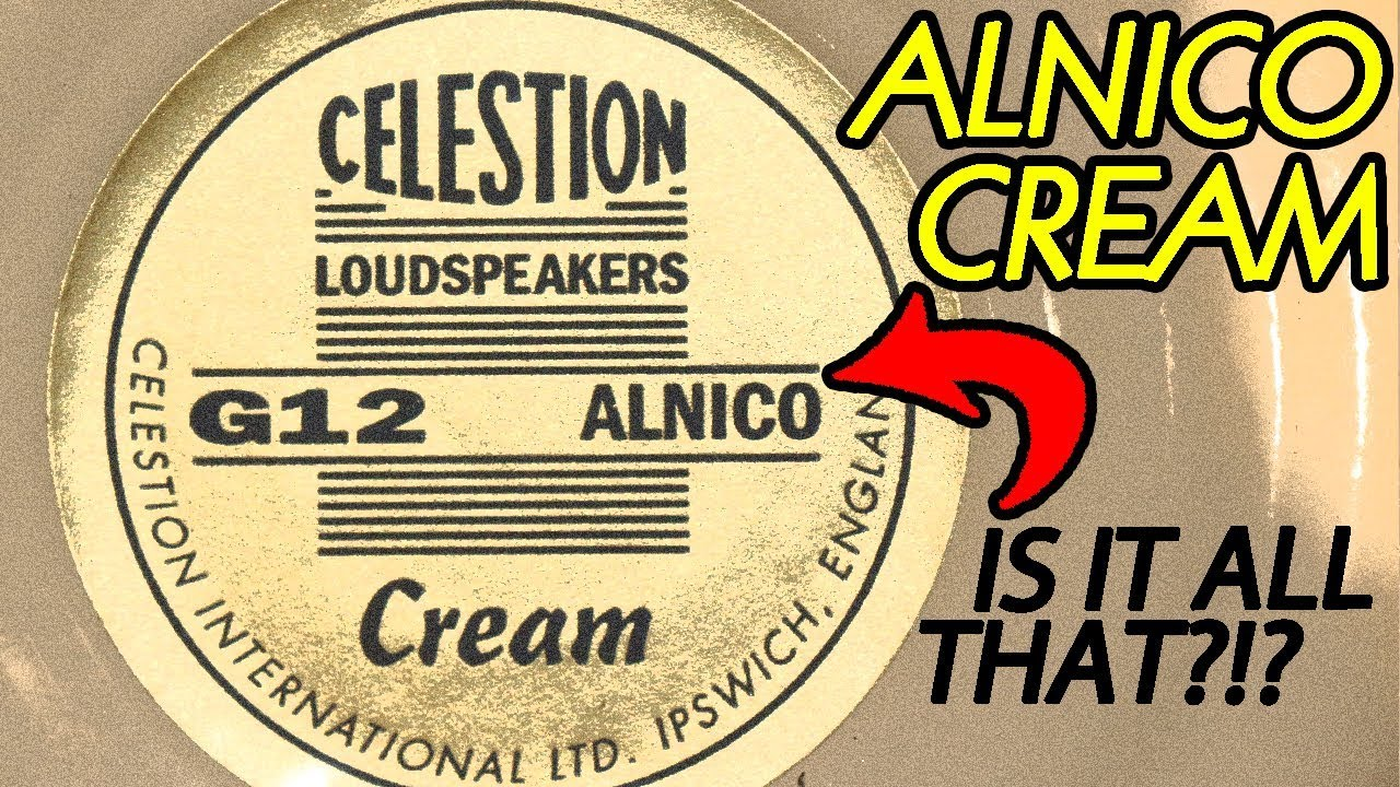 the celestion alnico cream is it all that vintage 30 youtube. Black Bedroom Furniture Sets. Home Design Ideas