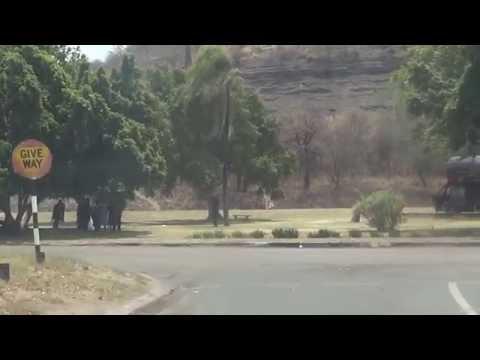 Wankie / Hwange City Centre - Zimbabwe