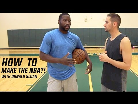 how-to-make-it-to-the-nba-|-donald-sloan