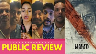 Manto Movie PUBLIC REVIEW | First Day First Show | Nawazuddin Siddiqui | Directed By Nandita Das
