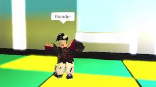 Thunder::Imagine dragons:: Roblox music video