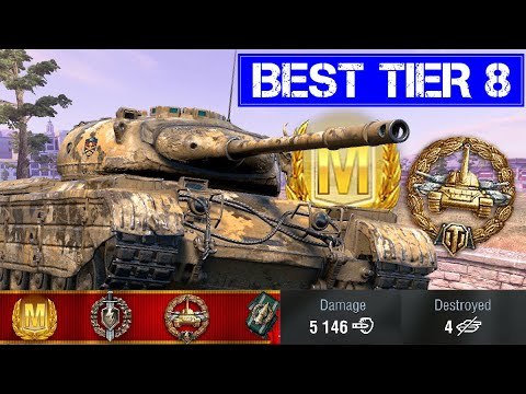 Best Tier 8 Tank Ever Progetto 46 World Of Tanks Blitz Youtube