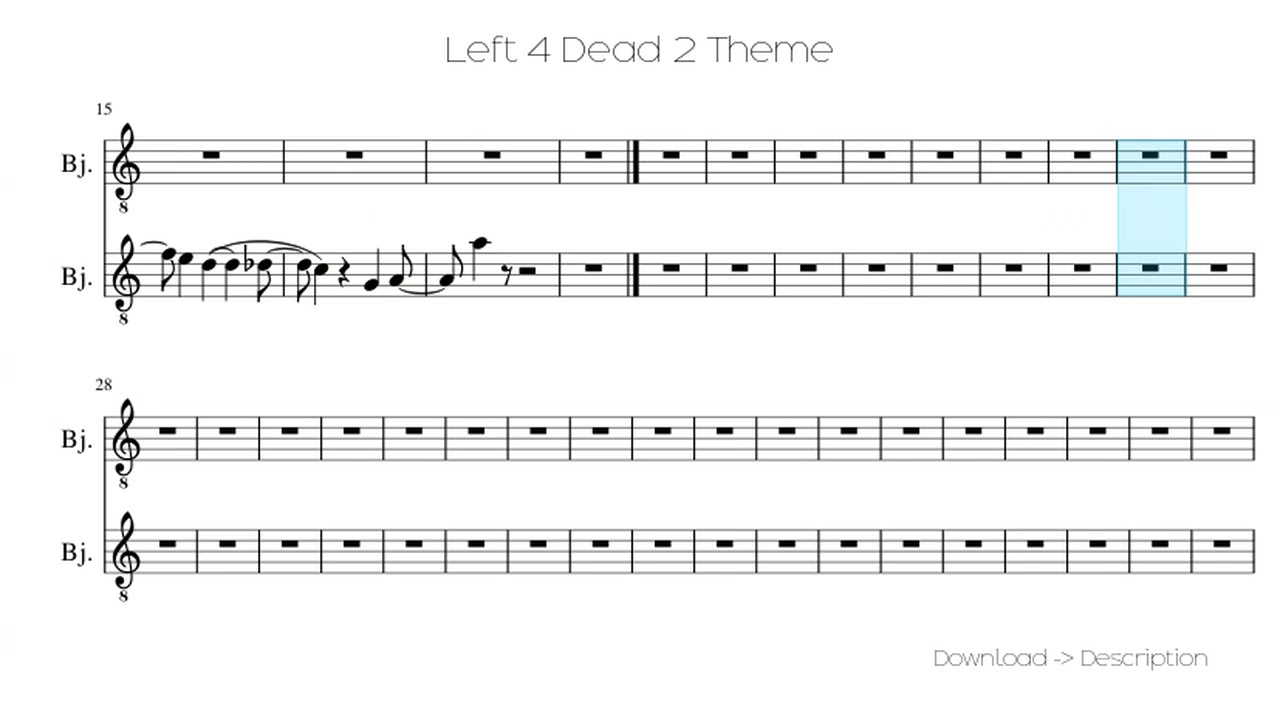 Left 4 dead theme song download