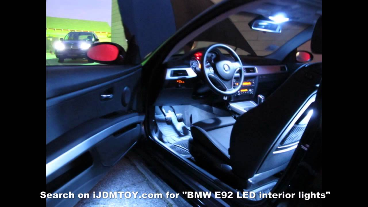 Ijdmtoy 2009 Bmw E92 335i With Led Interior Lights Hd You