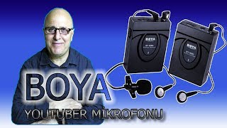 BOYA BY WM5 Pro youtuber mikrofonu Kutu açılımı
