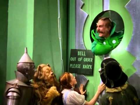The Wizard of Oz - Arrival at Emerald City...