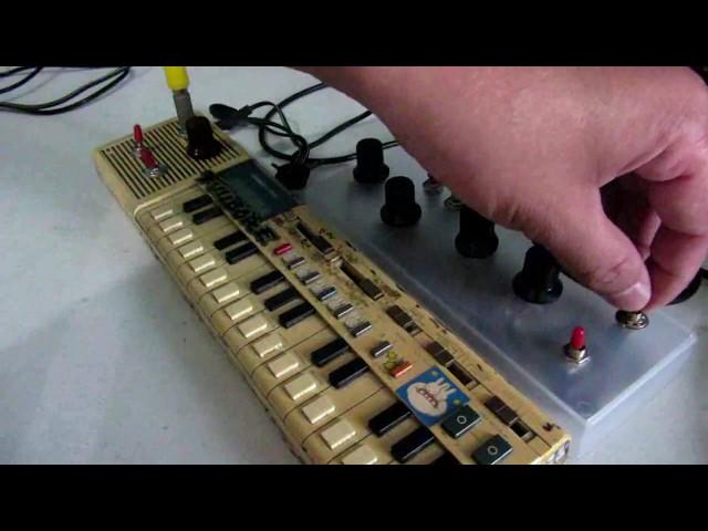 12 Mods Circuit Bent Casio VL-Tone