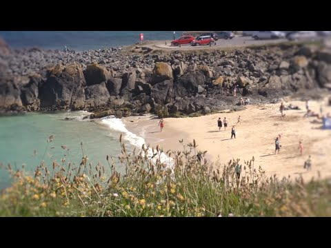 St Ives Bay in West Cornwall, a video guide