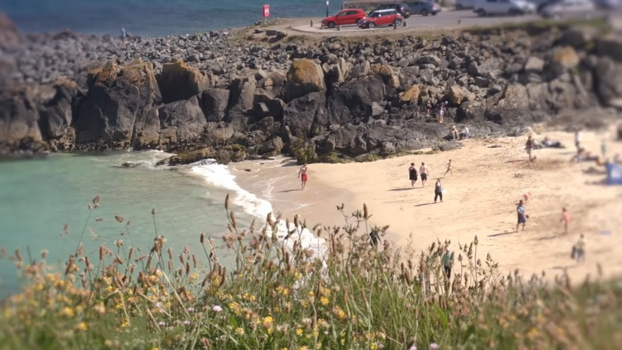 st ives bay in west cornwall a video guide youtube. Black Bedroom Furniture Sets. Home Design Ideas