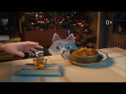 Ирония судьбы, или С новым котом! - реклама Сбербанка