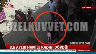 Hamile kadına el kaldırdı Türk askeri verdi dersin