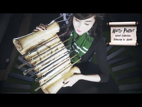 Harry Potter Wands Unboxing 2016 (Almost All Wands) by Alodia