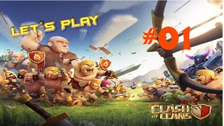 Let´s Play Clash of Clans #01 - Erste Probleme? [Deutsch] [HD]