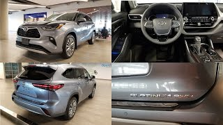 Toyota 2020 Highlander Platinum Delivery
