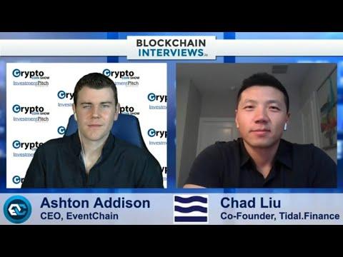 Chad Liu, Co-Founder of Tidal Finance | Blockchain Interviews