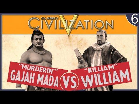 Civilization V:  Netherlands - #6 - War With Gajah Mada!!