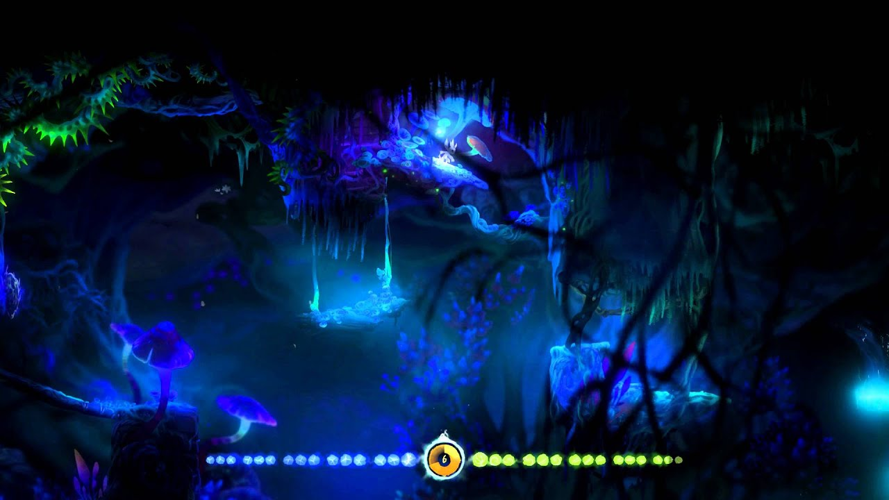 Ori And The Blind Forest Black Root Burrows Ost After