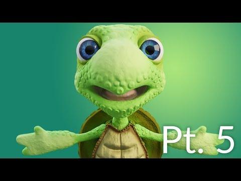 CGC Classic: Creating a Cartoon Turtle Pt. 5 - Rendering
