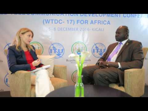 ITU INTERVIEWS: Dr. Lado W Kenyi, GNCA, South Sudan