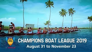 Promo - Champions Boat League 2019