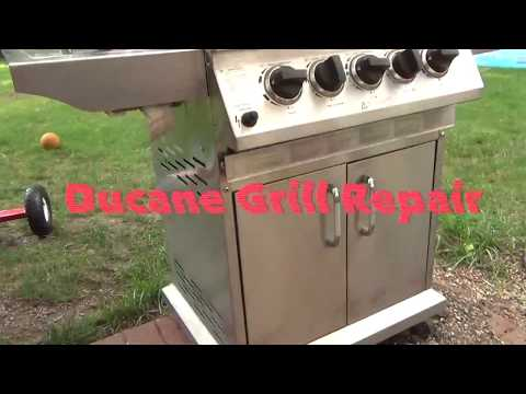 Grill Doesn't Work - Replacing The Burners