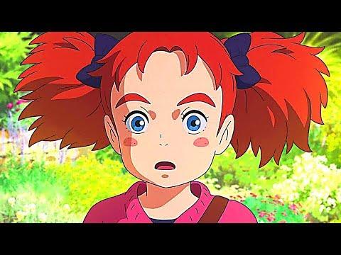 MARY ET LA FLEUR DE LA SORCIÈRE Bande Annonce VF ✩ Animation, Anime (2018)
