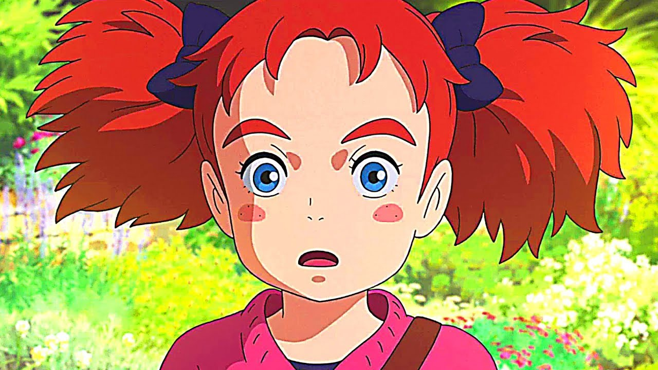 Mary Et La Fleur De La Sorciere Bande Annonce Vf Animation Anime