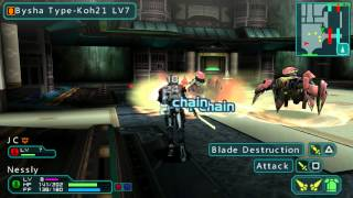 Phantasy Star Portable 2 Infinity] Playing Online with PPSSPP Emulator 1080 HD