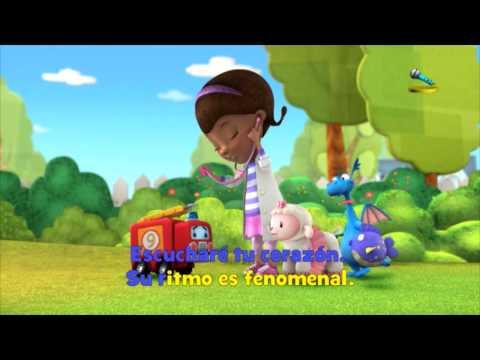 Disney Junior España   Canta con DJ: Doctora Juguetes: Te toca un chequeo