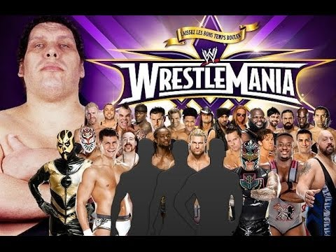 André The Giant Memorial Battle Royal : WWE Wrestlemania 30