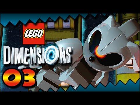 Lego Dimensions - Sonic Level Pack - Robo Sonic | Mecha ...