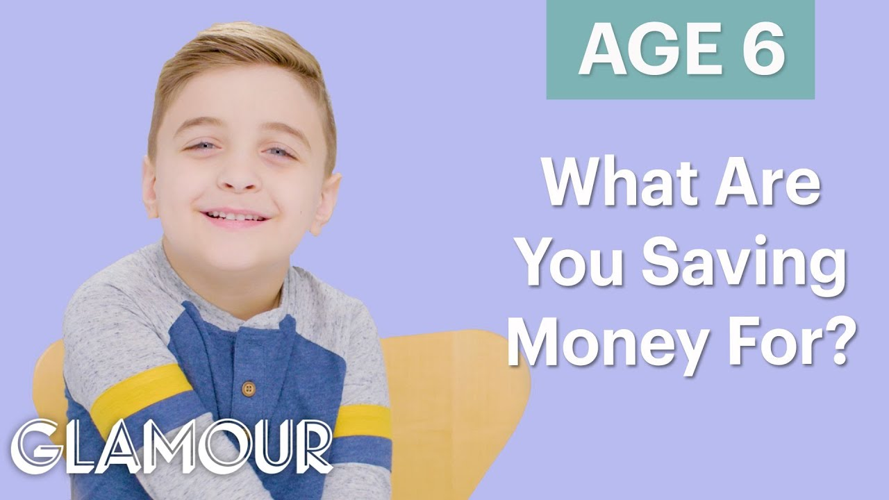 Men Ages 5-75: What Are You Saving Money For? | Glamour