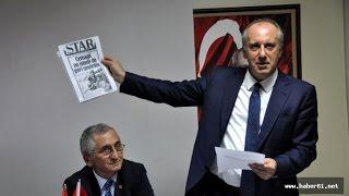 Muharrem İnce : ''15 Temmuz Recep Tayyip Erdoğan'ın ve Akp'nin bir Eseridir'