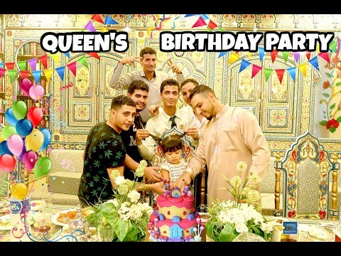 QUEEN'S BIRTHDAY PARTY DIKELILINGI COWO2 ARAB | NGABUBURIT ALA KITA | BAZAR RAMADHAN