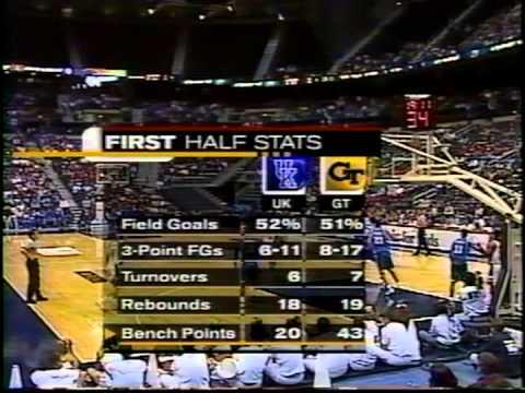 12/09/2000:  Kentucky Wildcats vs. Georgia Tech Yellow Jackets