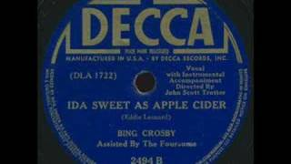 Foursome [2] (+ Bing Crosby) - Ida sweet as apple cider
