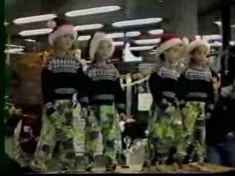 The Moffatts Xmas Singing 1990