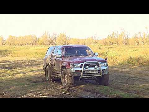 Наши первый тест драйв Toyota Hilux Surf 130