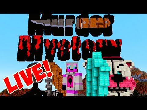 Minecraft Live- Murder Mystery, Battle Royal, and More!