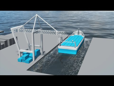 Norway developing world's first all-electric autonomous shipping container
